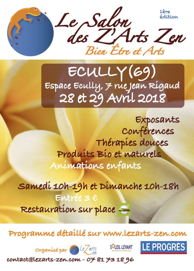 salon des z'arts zen d'Ecully